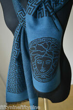 NEW GENUINE  VERSACE WOOL SCARF  MADE IN ITALY