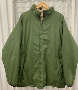 British Army Issue Reversible Thermal Jacket - Sand/Olive - Medium - Ref 196 5A2