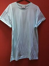 Topman Blue Rolled Sleeve T-Shirt (Size S)