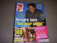TELE 7 JOURS 2168 12.2001 BERNARD TAPIE MICHEL DRUCKER GERARD MILLER CHER