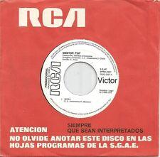 DOCTOR POP-SOFIA + I FEEL ALL RIGHT SINGLE VINILO NO COVER PROMOCIONAL SPAIN