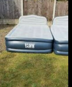 YAWN Air Bed Double Self-inflating Airbed Mattress with Built-in Pump- used
