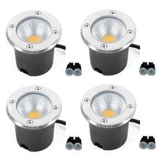 5W LED In-ground Landscape Lights 3000K Walkway Garden Outdoor COB Well Lighting