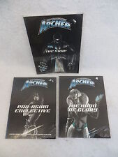 Lot of 3 SHADOWFORCE ARCHER BOOKS D20 System ALL SEALED AEG #s 1004, 1005 & 1008