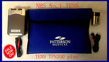 Dual Channel TENS Machines TENS TPN 200 Plus, Genuine TENS, NHS No.1
