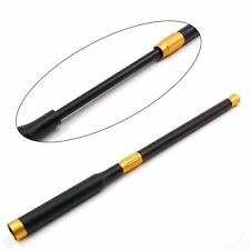 BLACK & GOLD ANODISED PUSH ON TELESCOPIC SNOOKER CUE EXTENSION