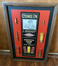 Winchester Western Ammunition Wood Resin Wall Art Sign Plaque * Great Colors