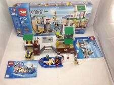Lego City 4644 Marina Set Complete Open Box But Mint Unused Stickers All Parts