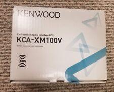 Kenwood KCA-XM100V XM Satellite Radio Interface Box Brand New Free Shipping