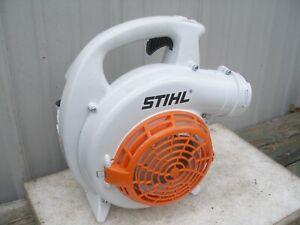 OEM NEW STIHL BG56C BLOWER COMPLETE FAN / ENGINE HOUSING tank THROTTLE BG86 #F