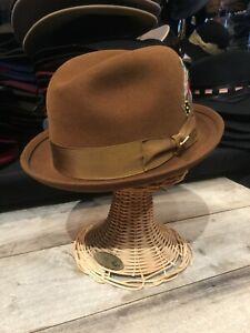 Biltmore Imperial Fur Felt Stingy Brim New York Fedora Hat