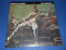 Fabrizio De Andrè - 1991 concerti - LP SIGILLATO