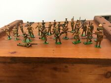 Rare Vintage Ww1 Tommy'S And Other Britains Lead Toy Soldiers X 29