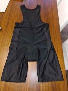 Mens Cycling Bib Shorts - Breathable Back Panel, XXL