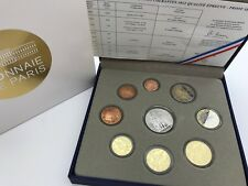 France 2012 proof euros coin set Monnaie de Paris BE KMS francia cartera Coffret