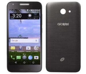 Alcatel ZIP LTE - TracFone, Black 16GB Newly Refurb