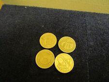 Nice £1 One Pound Coins Full Set Bridges Rare Set Of 4
