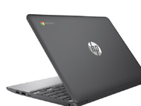 "HP 11-v019wm Chromebook 11.6"" HD TouchScreen Celeron N3060 1.6GHz 4GB RAM 16GB"