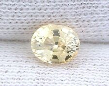 .73 Carat Oval Natural Yellow Sapphire Gem Stone Gemstone EBS6456