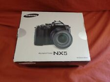 Samsung NX NX-5 DSLR camera  and accessories boxed No lens