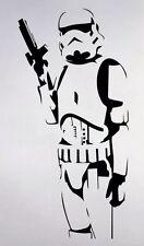 Storm Trooper Star Wars Wall Sticker Room Mural Decal Decor Art 11x22 Inch