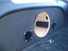 Fits Nissan 350Z - Custom Ported Subwoofer Enclosure Box & Plexiglass Amp Rack