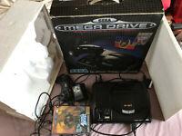 Boxed Altered Beast Edition Sega Mega Drive Console Bundle With Scart Lead CIB
