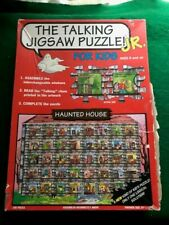 THE TALKING JIGSAW PUZZLE JR FOR KIDS HAUNTED HOUSE - 108 PCS