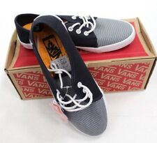 9910de58ff VANS Women s Tazie SKINNY Stripes Navy White Casual Shoes Removable Footbed Sz  5
