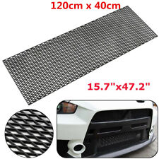 120x40cm ABS Plastic Racing Car Diamond Honeycomb Mesh Grill Spoiler Bumper