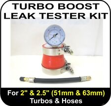 "TURBO BOOST LEAK TESTER Fits 2"" & 2.5"" (51 & 63mm) Turbos Pipes Hose Tool"