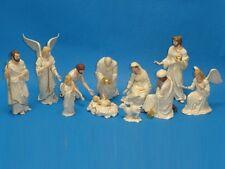 LENOX CHRISTMAS NATIVITY FIGURINE 11 PIECES * 1995