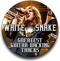 WHITESNAKE STYLE MP3 ROCK GUITAR BACKING JAM TRACKS CD LIBRARY COLLECTION