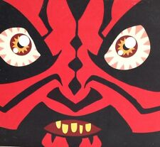 Mighty Muggs Darth Maul Star Wars sith designer vinyl