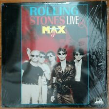 ROLLING STONES THX Laserdisc Live at the Max Concert LD shrink