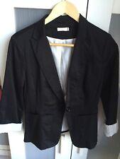 Black Blazer Sz 10, 3/4 Sleeve