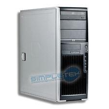 WORKSTATION HP XW4300, INTEL PENTIUM 4, WINDOWS XP ORIG., SCHEDA VIDEO DEDICATA