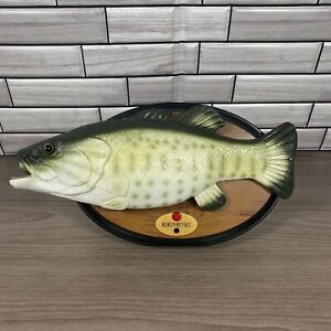 Big Mouth Billy Bass The Singing Sensation 🎶 Tested & Working Sings 2 Songs 🐟