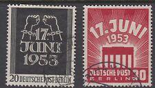 BERLIN : 1953 East German Uprising set SGB110-11 fine used