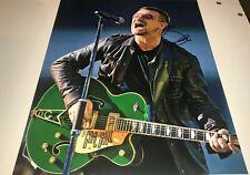 Bono U2 Singer Concert Hand Signed 11x14 Autographed Photo W/Coa