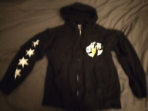 WWE Official CM Punk GTS Best in the World Hoodie Zipper Sweatshirt Mens Small S
