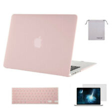 Mosiso  4in1 Laptop Shell Clear Plastic Case for Macbook Air 13 + keyboard cover