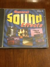 CD Compact Disc General Sound Effects Case is cracked