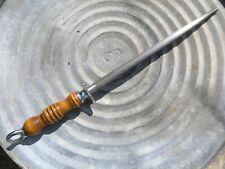 Vintage Case XX Sharpening Steel Pocket Butcher Kitchen Hunting Knife Block Logo