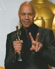 John Ridley Signed Oscar 10x8 Photo AFTAL