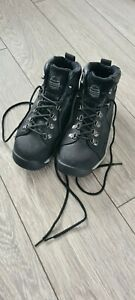 Mens Black Groundwork Safety Boots Size 8