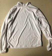 Long Sleeve Adult Large Cheer White Shirt