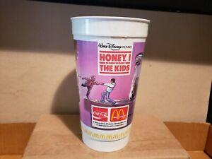 McDonalds Meal Walt Disney Honey, I Shrunk The Kids Plastic Cup 1988
