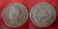 Louis philippe - colonie - 10 cent 1844 pour les iles Marquises -Rareté R2 - Sup