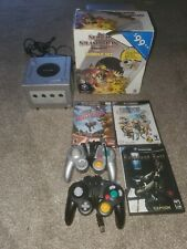 Platinum Nintendo Gamecube with box 2 controllers 3 games